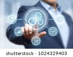 automation software technology... | Shutterstock . vector #1024329403