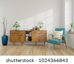 modern mid century and vintage... | Shutterstock . vector #1024366843