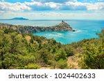 beautiful summer sea landscape...   Shutterstock . vector #1024402633