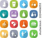 flat vector icon set   cleanser ... | Shutterstock .eps vector #1024406053