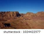 panoramic view of petra from... | Shutterstock . vector #1024422577