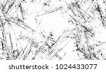 grainy black and white distress ... | Shutterstock .eps vector #1024433077
