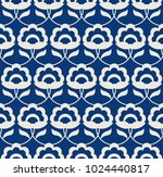 seamless retro pattern with... | Shutterstock .eps vector #1024440817