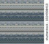 ethnic  boho seamless pattern.... | Shutterstock .eps vector #1024508413