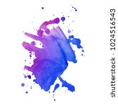 abstract isolated colorful...   Shutterstock .eps vector #1024516543