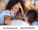 true feelings. nice handsome... | Shutterstock . vector #1024549093