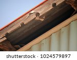 Damaged Fascia Board On A...