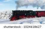 brocken  germany   february 6 ... | Shutterstock . vector #1024618627