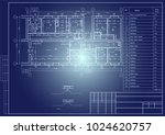 the architectural design of the ... | Shutterstock .eps vector #1024620757