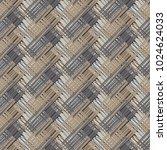 seamless geometric pattern.... | Shutterstock .eps vector #1024624033