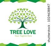 love tree logo | Shutterstock .eps vector #1024638847