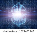 3d illustration future... | Shutterstock . vector #1024639147