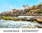 cliff view panorama of quinta... | Shutterstock . vector #1024645027