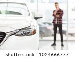 selective focus on a car male...   Shutterstock . vector #1024666777