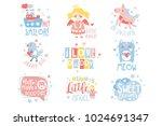 baby nursery room print design... | Shutterstock .eps vector #1024691347