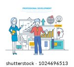 professional development.... | Shutterstock .eps vector #1024696513