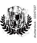 beer glass | Shutterstock .eps vector #10247107