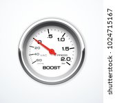 vector boost meter isolated.... | Shutterstock .eps vector #1024715167