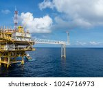 offshore oil and gas central... | Shutterstock . vector #1024716973