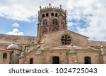 church in the orense region ...   Shutterstock . vector #1024725043