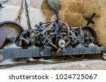 church bell inside the...   Shutterstock . vector #1024725067
