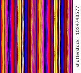abstract hand drawn vivid... | Shutterstock . vector #1024743577