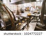 cookie factory  food industry.... | Shutterstock . vector #1024772227