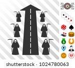 scytheman future road... | Shutterstock .eps vector #1024780063