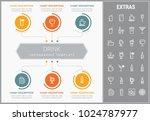 drink infographic template ...   Shutterstock .eps vector #1024787977