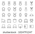 medal and badge template ... | Shutterstock .eps vector #1024791247