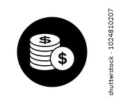 money icon with background | Shutterstock .eps vector #1024810207
