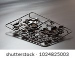 industrial injection molding... | Shutterstock . vector #1024825003