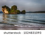 noppharatthara beach  krabi ... | Shutterstock . vector #1024831093