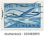 finland   circa 1963  a stamp... | Shutterstock . vector #102483893