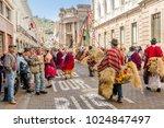 quito  ecuador   january 11 ...   Shutterstock . vector #1024847497
