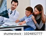 health concepts. doctor and... | Shutterstock . vector #1024852777