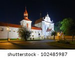 Baroque Church And Monastery...