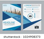 modern geometric style business ... | Shutterstock .eps vector #1024908373