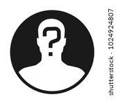 incognito  unknown person ...   Shutterstock .eps vector #1024924807