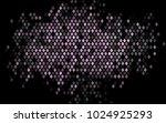dark black vector blurry... | Shutterstock .eps vector #1024925293