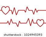 love waves background logo | Shutterstock .eps vector #1024945393