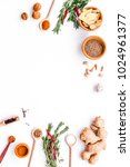 seasoning background. dry... | Shutterstock . vector #1024961377