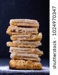 homemade organic apple pie...   Shutterstock . vector #1024970347