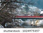 nakabashi bridge over miyagawa... | Shutterstock . vector #1024975357