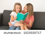 young beautiful and happy women ... | Shutterstock . vector #1025020717