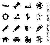 solid vector icon set   small...