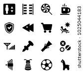 solid vector icon set  ... | Shutterstock .eps vector #1025044183