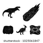 a falling meteorite ... | Shutterstock .eps vector #1025061847