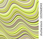 simple curve lines wavy... | Shutterstock .eps vector #1025068543