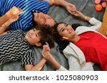 family concept. family is happy ... | Shutterstock . vector #1025080903